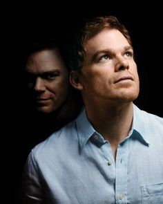 Michael C. Hall as Dexter Morgan and his Dark Passager