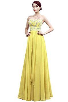 Dora Bridal Women Beaded Chiffon Bridesmaid Dresses Gowns Size 2 US Daffodil Dora Bridal http://www.amazon.com/dp/B0147YFIMY/ref=cm_sw_r_pi_dp_JpElwb0QYYDE8