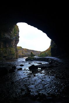 Smoo Cave, Durness, via Flickr. Clan MacKay Country