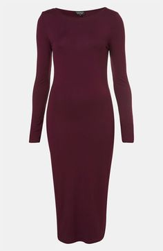The midi dress shows effortless sass and class #Nordstrom #somystyle