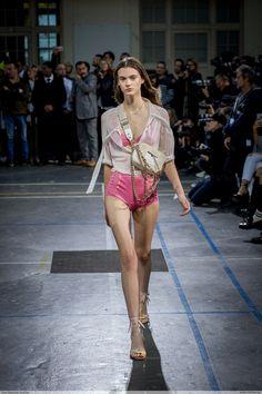 Sara Dijkink by Jean Baptiste Soulliat John Galliano - Paris Fashion Week PAP SS17
