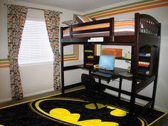 #BatMan Rug for a Boy's Bedroom