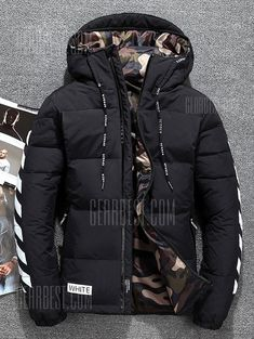 2018 Mens Down Jacket Warm White Duck Winter Coat Hooded Mens Waterproof Windbreak Male Casual Hoodie Jacket Coat Simple Fall Outfits, Winter Outfits Men, Fall Fashion Outfits, Winter Fashion, Mens Fashion, Men's Outfits, Mens Parka Jacket, Mens Down Jacket, Hoodie Jacket