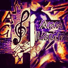 Ann G Lau'ren - Artst Label in-design
