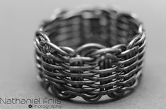 Wicker Weave Ring