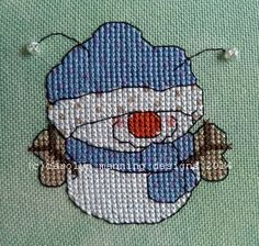 One of the four newest little Snowbugz from the Third Swarm. www.carolynmanningdesigns.com