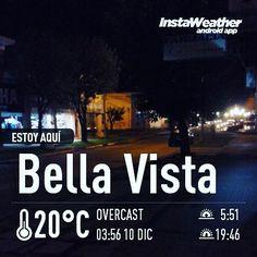 #YA la noche de #BellaVista #Corrientes #imagenprimeroya