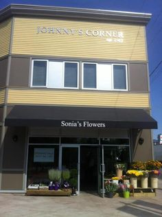 On the former site of Johnny's Corner Store, Sonia's Flowers opens for business. Corner, Store, Business, Outdoor Decor, Flowers, Home Decor, Tent, Shop Local, Interior Design