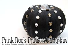 Tutorial: Punk Rock Princess Pumpkin