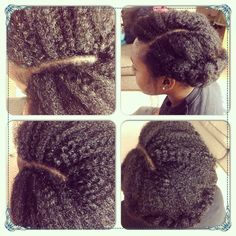Knotless crochet braids with Marley hair
