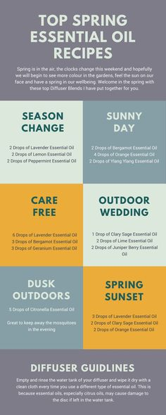 Essential Oil Blends for Spring. Bespoke recipes to celebrate and welcome spring. Aromatherapy blends for Spring. Aromatherapy blends for your diffuser.
