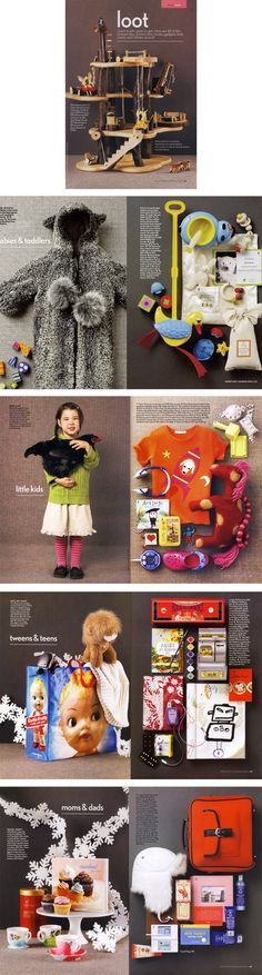 Gift Guide, Winter 2007 issue, Canadian Family Magazine