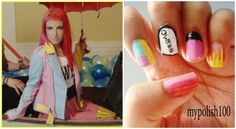 Paramore Still Into You Inspired Nails!!!!