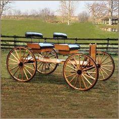 Buckboard, Horse Drawn Wagons - Base Price $5,695.00   A Wagon Wheel