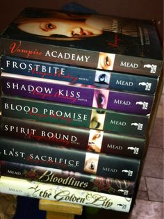 Vampire Academy and Bloodlines series this is my favorite of all the vampire books I have ever read!