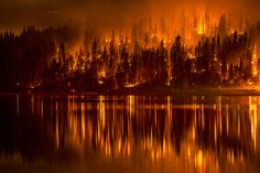Photographer talks about sadness and hope of Yosemite wildfires