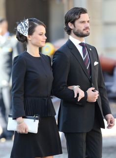 Sofia Hellqvist, September 30, 2014   Royal Hats...... Posted on September 30, 2014 by HatQueen..... Members of the Swedish Royal Family accompanied King Carl Gustaf this morning to officially open Swedish Parliament.