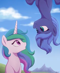 Princess Celestia and Princess Luna // My Little Pony