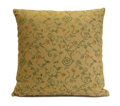 """This listing is for pillow cover only. Insert is not included but can be upon request. Size: 18""""x18"""" Fabric: Linen Blend Closure: Invisible zipper at the bottom Same fabric and pattern is on both sides Visit https://www.etsy.com/shop/SHPillows?ref=l2-shopheader-name to see the rest of our collection."""