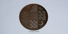 Feathers! Leaf & Feather Nail Art Stamp Template Image Plate BORN PRETTY 18