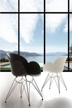 Poltroncina Lotus Metal 292 sedie moderne - sedute