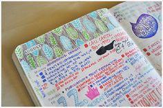 Highlights from my 2011 Moleskine 18-month planner.