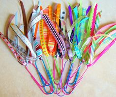 Jumbo Paper Clip Bookmarks New Clip Colors by AlteredToPerfection
