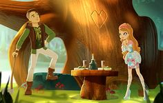 Ever After High -hunter and his girl friend