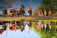 Reflections of 9-11 with the Patriot Guard and Tacoma FD Honor Guard by Liz Jackson