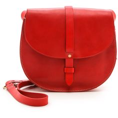 Madewell The Dylan Saddle Bag - Bandana Red and other apparel, accessories and trends. Browse and shop 8 related looks.