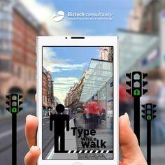 Type While Walk
