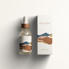 kleine auszeit Packaging Design for Terra Mater Organic Skincare. Using Incense to Save on Your Util Bio Packaging, Perfume Packaging, Print Packaging, Beauty Packaging, Cosmetic Packaging, Organic Packaging, Perfume Logo, Luxury Packaging, Packaging Ideas