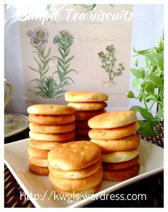 Homemade Plain Tea Biscuits    #guaishushu #kenneth_goh  #marie_biscuits   #rich_tea_biscuits