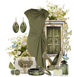 """door to the butterfly summer"" by sagramora ❤ liked on Polyvore"