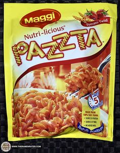 The Ramen Rater reviews an instant noodle from India - Maggi's Nutri-licious Pazzta - found at a local Indian grocery recently