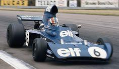 Francois Cevert dans la Tyrrell 006-Ford Great Britain 1973.