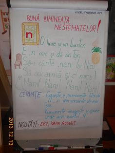 Bine ati venit pe blogul clasei pregatitoare B, STEP BY STEP: Mesajul zilei Class Decoration, Blog Page, Kindergarten Activities, Anchor Charts, Worksheets, Diy And Crafts, Homeschool, Parenting, Bullet Journal