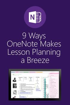 OneNote, which you can download for free, is a teacher's best friend. Read these nine ways OneNote can help make digital lesson-planning…