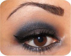 ♥ NYE Easy-To-Do Smokey Eye Tutorial ~ Yolanda's Blog~ UK Natural Afro Hair Blog and Beauty Blog