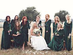 ac7524f218 20 Most inspiring Christmas Bridesmaid Dresses images