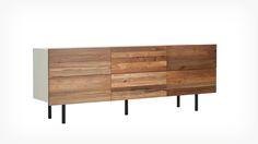 Design Of Reclaimed Teak Low Dresser For Living Room