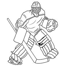 hockey goalie coloring pages printable and coloring book to print for free. Find more coloring pages online for kids and adults of hockey goalie coloring pages to print. Hockey Tournaments, Hockey Goalie, Hockey Mom, Hockey Teams, Hockey Players, Hockey Girls, Goalie Pads, Sports Coloring Pages, Coloring Pages For Boys