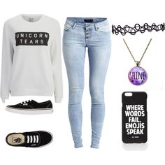 Casual Style (My Favourite^^) by stellagirlhey on Polyvore featuring Zoe Karssen, Object Collectors Item, Vans and Jac Vanek