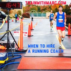 Marc will take the guesswork out of running that many runners face each & every day.