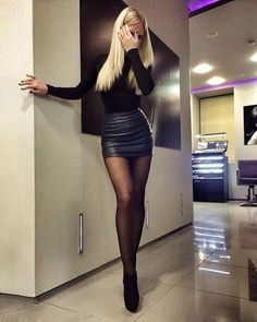 31 Beautiful Outfits To Try Out Now! 31 Beautiful Outfits To Try Out Beautiful Outfits To Try Out Now!Check out these beautiful outfits that are a must-have in anyone's c Nye Outfits, Night Outfits, Fashion Outfits, Outfit Night, New Years Eve Outfits, Fashion Tights, Fashion Clothes, Black Tights Outfit, Black Stockings Outfit