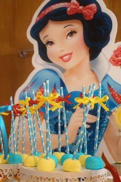 snow white party ideas