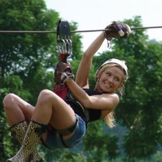 Canopy Adventures: zip line cable action in Koh Samui, Thailand.