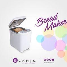 Prepara un exquisito pan con la máquina Bread Maker de #Blanik y acompañalo con lo que más te gusta. http://ow.ly/XnYv6