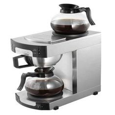 Perfect for the busiest of catering outlets, this coffee maker can brew up to of coffee in less than 6 minutes. It has two hot plates, perfect for keeping the coffee hot until Best Home Coffee Machine, Best Coffee Maker, Best Coffee Mugs, Drip Coffee Maker, Coffee Drinks, Lavazza Coffee Machine, Filter Coffee Machine, Espresso Coffee Machine, Chicago Coffee Shops