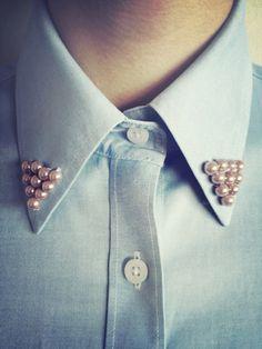 DIY - Customização - Pearl collar